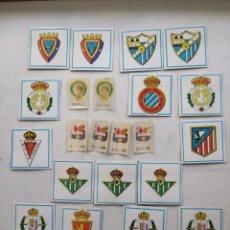 Coleccionismo deportivo: ESCUDOS DE FUTBOL DE DIFERENTES EQUIPOS.. Lote 230291045