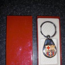 Coleccionismo deportivo: LLAVERO FC BARCELONA CON ESTUCHE. Lote 233085920