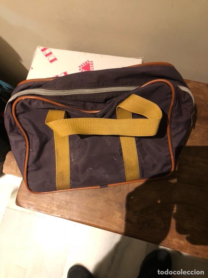 Coleccionismo deportivo: Bolsa de mano original mundial 82 - Foto 2 - 235183105