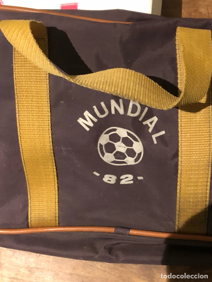 BOLSA DE MANO ORIGINAL MUNDIAL 82 (Coleccionismo Deportivo - Merchandising y Mascotas - Futbol)