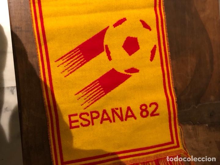 Coleccionismo deportivo: Bufanda original del mundial 82 - Foto 3 - 235183325