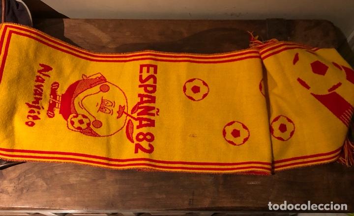 BUFANDA ORIGINAL DEL MUNDIAL 82 (Coleccionismo Deportivo - Merchandising y Mascotas - Futbol)