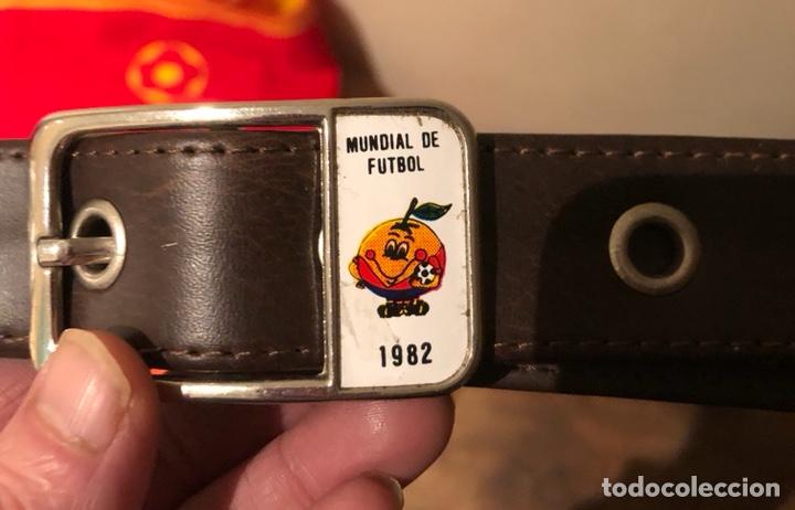 Coleccionismo deportivo: Cinturón del mundial 82 - Foto 2 - 235183530