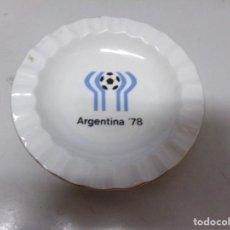 Coleccionismo deportivo: PLATO DE PORCELANA DE MUNDIAL FUTBOL ARGENTINA 78. Lote 235321270