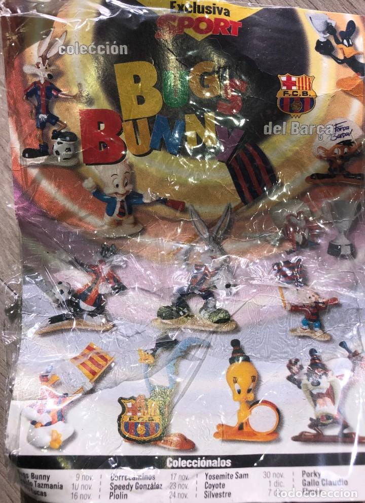 Coleccionismo deportivo: Figuras de PVC - LOONEY TUNES - WARNER BROS. - STAR TOYS - Año 1996. DEL BARÇA - Foto 2 - 235821540