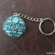 Coleccionismo deportivo: LLAVERO ARGENTINA CAMPEON MUNDIAL 86 OTRO. Lote 236511915