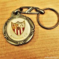 Coleccionismo deportivo: ANTIGUO LLAVERO ALZAMORA C.F: DE 1993 EXCELENTE. Lote 236786335