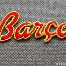 Coleccionismo deportivo: FC BARCELONA PARCHE BARÇA PARA CHANDAL KAPPA AÑO 1995 97. Lote 237840000