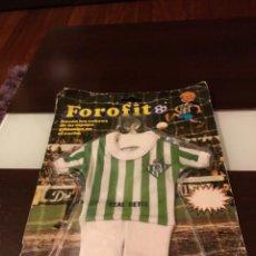 Coleccionismo deportivo: FOROFITO PARA COCHE REAL BETIS BALOMPIÉ EDICIÓN MUNDIAL 1982 ESPAÑA 82. Lote 239748025