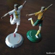 Colecionismo desportivo: 2 FIGURAS DE BECKHAM. GALAXI. NANO FTCHAMPS.. Lote 240676545