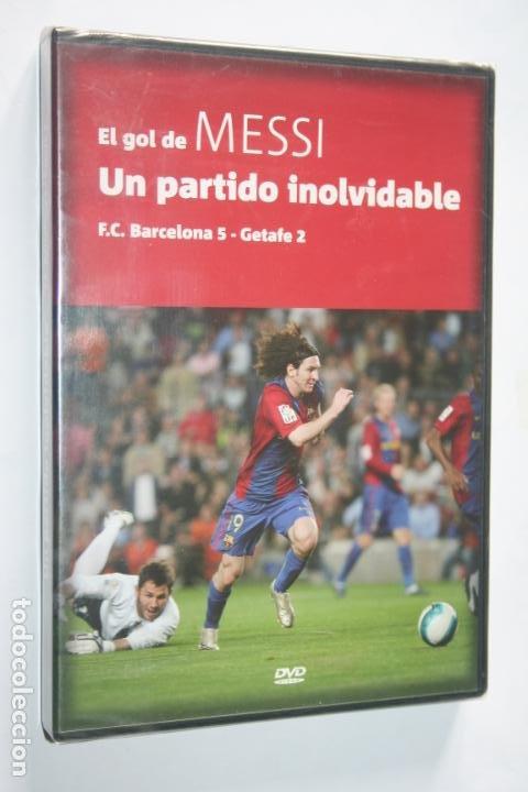 EL GOL DE MESSI : UN PARTIDO INOLVIDABLE * DVD DEPORTIVO (FUTBOL) * PRECINTADO (Coleccionismo Deportivo - Merchandising y Mascotas - Futbol)