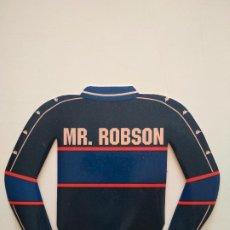 Coleccionismo deportivo: PEGATINA BOBBY ROBSON FC BARCELONA 1996-97 BARÇA. Lote 241332600