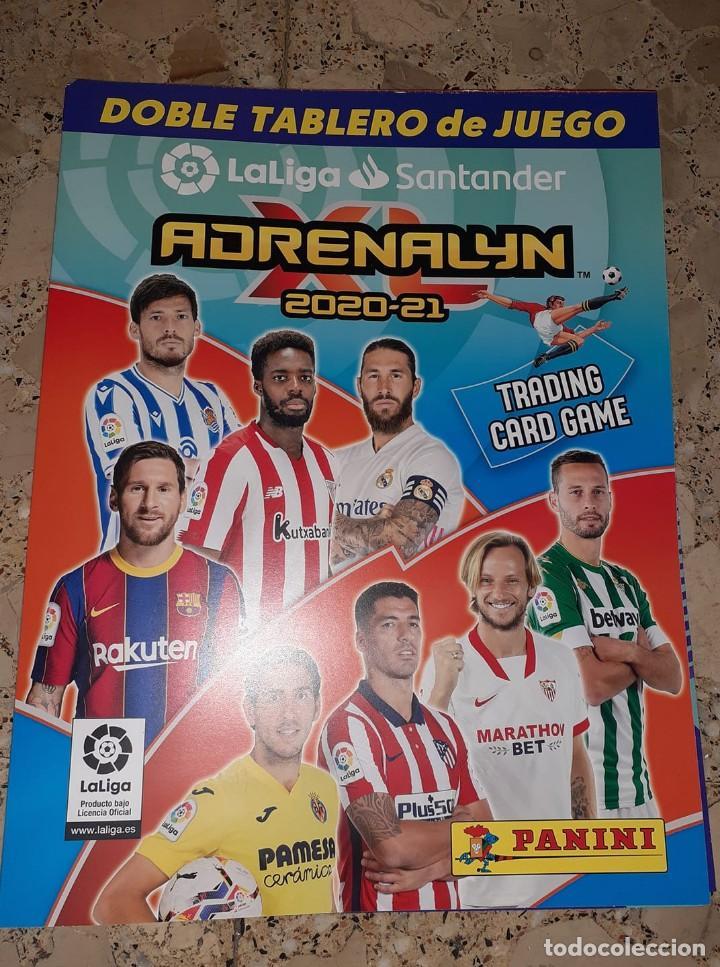 DOBLE TABLERO DE JUEGO ADRENALYN XL 2020/21,EDITORIAL PANINI,NUEVO,SIN ESTRENAR Y EN PERFECTO ESTADO (Coleccionismo Deportivo - Merchandising y Mascotas - Futbol)