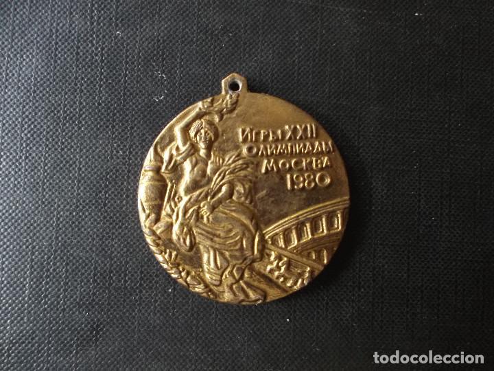 COLGANTE JUEGOS OLIMPICOS DE MOSCU 1980 (Coleccionismo Deportivo - Merchandising y Mascotas - Futbol)