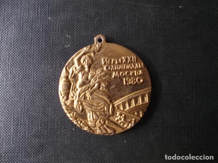 Coleccionismo deportivo: colgante juegos olimpicos de Moscu 1980 - Foto 3 - 242829380