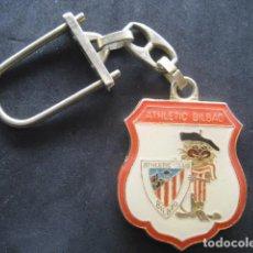 Coleccionismo deportivo: LLAVERO FUTBOL ATHLETIC CLUB BILBAO. SAN MAMES LOS LEONES. Lote 243387920