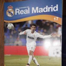 Colecionismo desportivo: FASCÍCULO LOS JUGADORES DEL REAL MADRID: NURI SAHIN, Nº 17, EDITORIAL HOBBY WORK. Lote 243496240