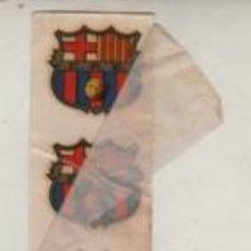 Coleccionismo deportivo: TRES CALCOMANIAS DEL ESCUDO DEL FUTBOL CLUB BARCELONA - BARÇA SIN ESTRENAR. Lote 244402505