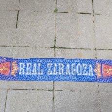 Coleccionismo deportivo: BUFANDA REAL ZARAGOZA INMORTAL PARA TRIUNFAR. Lote 244678000