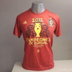 Coleccionismo deportivo: ORIGINAL CAMISETA UEFA EURO 2012 EUROCOPA ESPAÑA SELECCIÓN CAMPEONES. Lote 246363710
