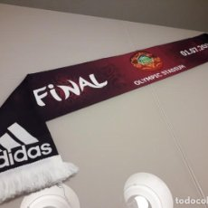 Coleccionismo deportivo: BUFANDA UEFA EURO 2012 EUROCOPA FINAL ESPAÑA CAMPEONES 2008 2020 MUNDIAL. Lote 246364340