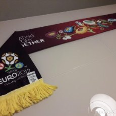 Coleccionismo deportivo: BUFANDA UEFA EURO 2012 EUROCOPA FINAL ESPAÑA CAMPEONES 2008 2020 MUNDIAL. Lote 246364720