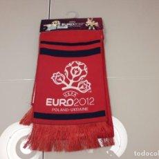 Coleccionismo deportivo: BUFANDA UEFA EURO 2012 EUROCOPA FINAL ESPAÑA CAMPEONES 2008 2020 MUNDIAL. Lote 246366010