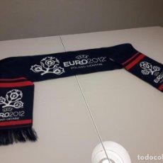 Coleccionismo deportivo: BUFANDA UEFA EURO 2012 EUROCOPA FINAL ESPAÑA CAMPEONES 2008 2020 MUNDIAL. Lote 246366090
