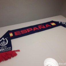 Coleccionismo deportivo: BUFANDA UEFA EURO 2008 EUROCOPA FINAL ESPAÑA CAMPEONES 2012 2020 MUNDIAL. Lote 246366540