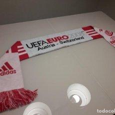 Coleccionismo deportivo: BUFANDA UEFA EURO 2008 EUROCOPA FINAL ESPAÑA CAMPEONES 2012 2020 MUNDIAL. Lote 246366585