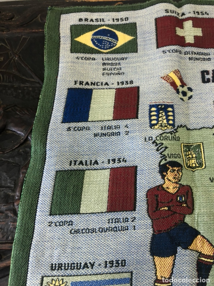 Coleccionismo deportivo: Magnifico tapiz original mundial 82 - Foto 2 - 247313620