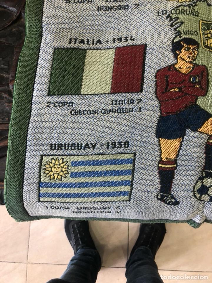 Coleccionismo deportivo: Magnifico tapiz original mundial 82 - Foto 3 - 247313620