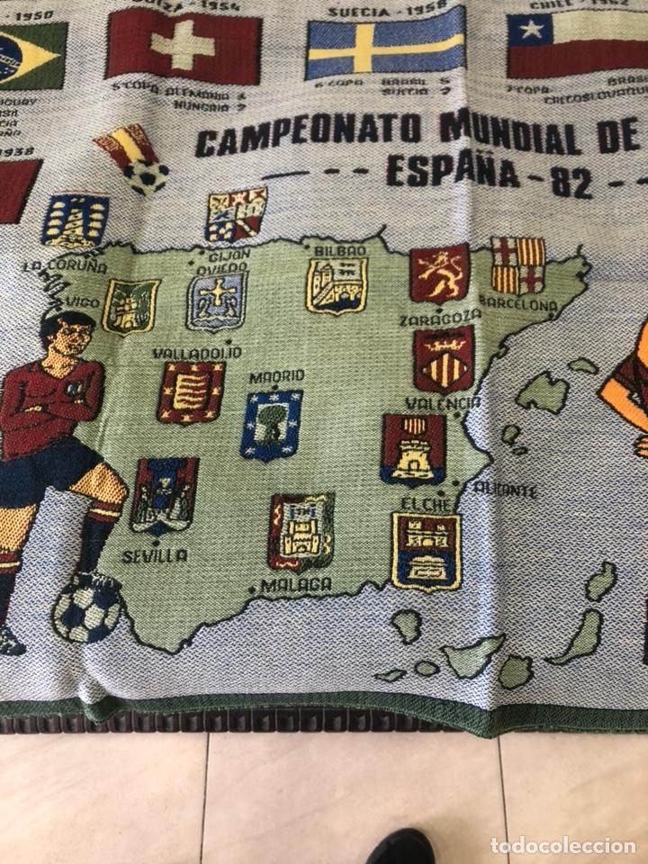 Coleccionismo deportivo: Magnifico tapiz original mundial 82 - Foto 4 - 247313620