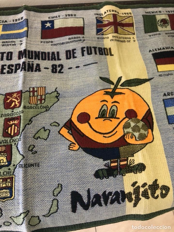 Coleccionismo deportivo: Magnifico tapiz original mundial 82 - Foto 5 - 247313620