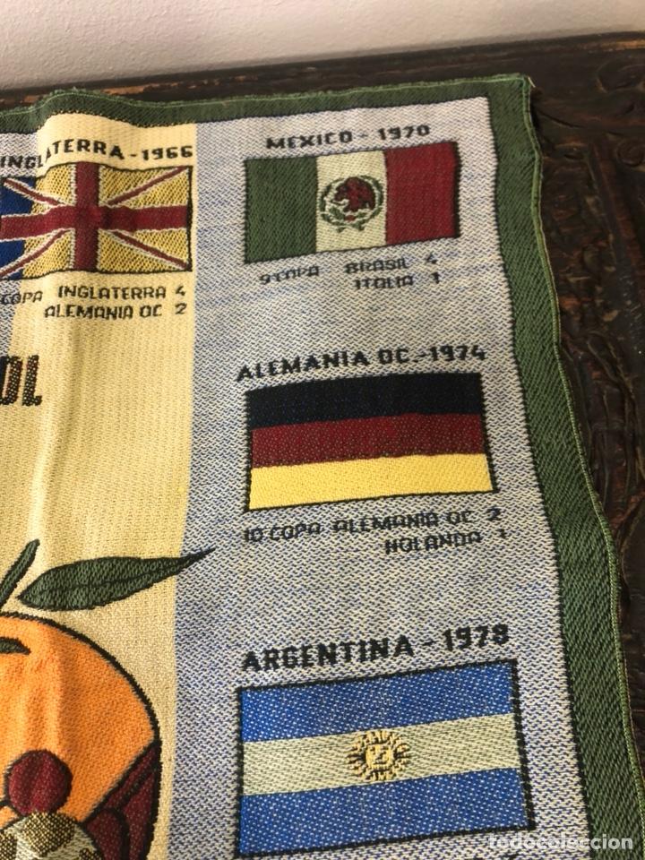 Coleccionismo deportivo: Magnifico tapiz original mundial 82 - Foto 6 - 247313620