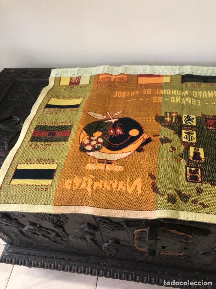 Coleccionismo deportivo: Magnifico tapiz original mundial 82 - Foto 8 - 247313620