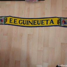 Collectionnisme sportif: ANTIGUA BUFANDA SCARFF ESCOLA ESPORTIVA GUINEUETA 1,70MT. Lote 247345760