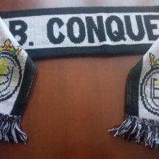 Collectionnisme sportif: CONQUENSE BUFANDA SCARF FOOTBALL FUTBOL. Lote 247920105