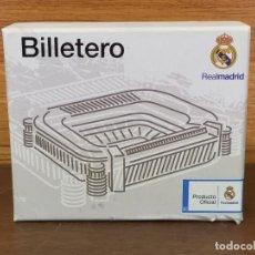 Coleccionismo deportivo: CARTERA BILLETERA ORIGINAL REAL MADRID. Lote 248035790
