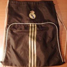 Coleccionismo deportivo: BOLSA MOCHILA REAL MADRID. ADIDAS. BOLSILLO EXTERIOR 49X40 CM. Lote 251760230