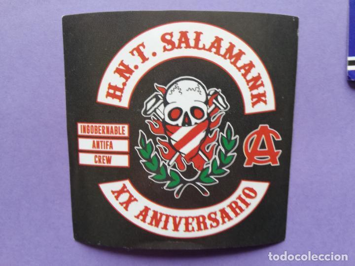 PEGATINA ULTRAS ATHLETIC BILBAO HERRI NORTE SALAMANK (Coleccionismo Deportivo - Merchandising y Mascotas - Futbol)