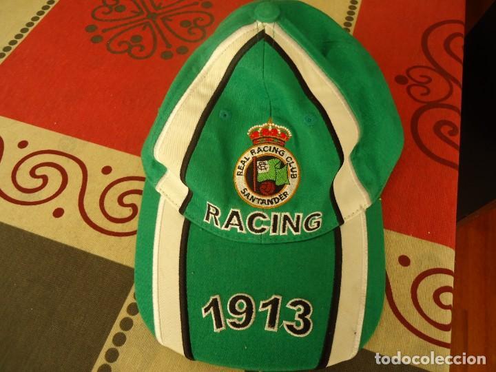 GORRA RACING DE SANTANDER 1913 (Coleccionismo Deportivo - Merchandising y Mascotas - Futbol)