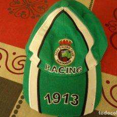 Coleccionismo deportivo: GORRA RACING DE SANTANDER 1913. Lote 252735635
