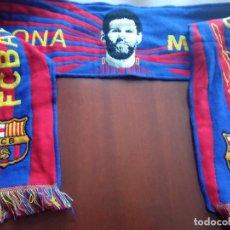 Collezionismo sportivo: MESSI FC BARCELONA FUTBOL FOOTBALL BUFANDA SCARF. Lote 253329655