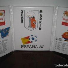 Coleccionismo deportivo: ALMOADILLA MUNDIAL FUTBOL ESPAÑA 82. SEDE MADRID. NARANJITO. PUBLICIDAD TABACO WINSTON. Lote 254360755