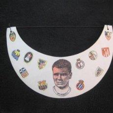 Coleccionismo deportivo: KUBALA-GORRA VISERA-ESCUDOS DEL FC BARCELONA-REAL MADRID-ATLETICO-ATHLETIC...ETC-VER FOTOS-(K-2324). Lote 254962725
