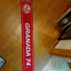 Coleccionismo deportivo: BUFANDA DEL GRANADA 74 CLUB DE FÚTBOL S.A.D. 2007.. Lote 255620905