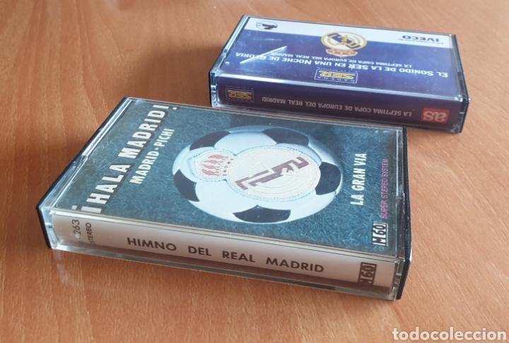 Coleccionismo deportivo: LOTE DE 2 CASSETTES DEL REAL MADRID CF - Foto 2 - 255982720