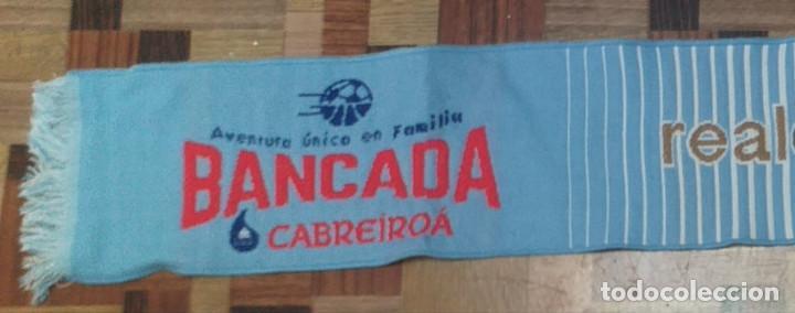 Coleccionismo deportivo: Bufanda Real Celta de Vigo - Foto 2 - 256016980