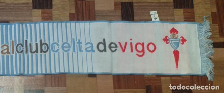 Coleccionismo deportivo: Bufanda Real Celta de Vigo - Foto 3 - 256016980